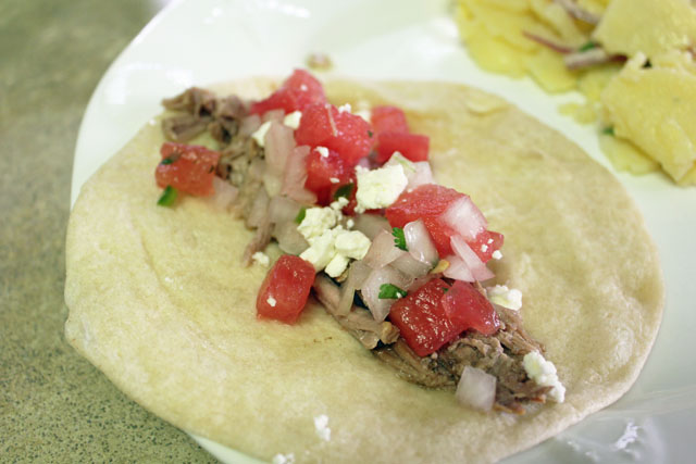 Crock Pot Recipe: Pork Carnitas Tacos and Watermelon Salsa