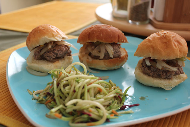 Yummy Onion Beef Sliders